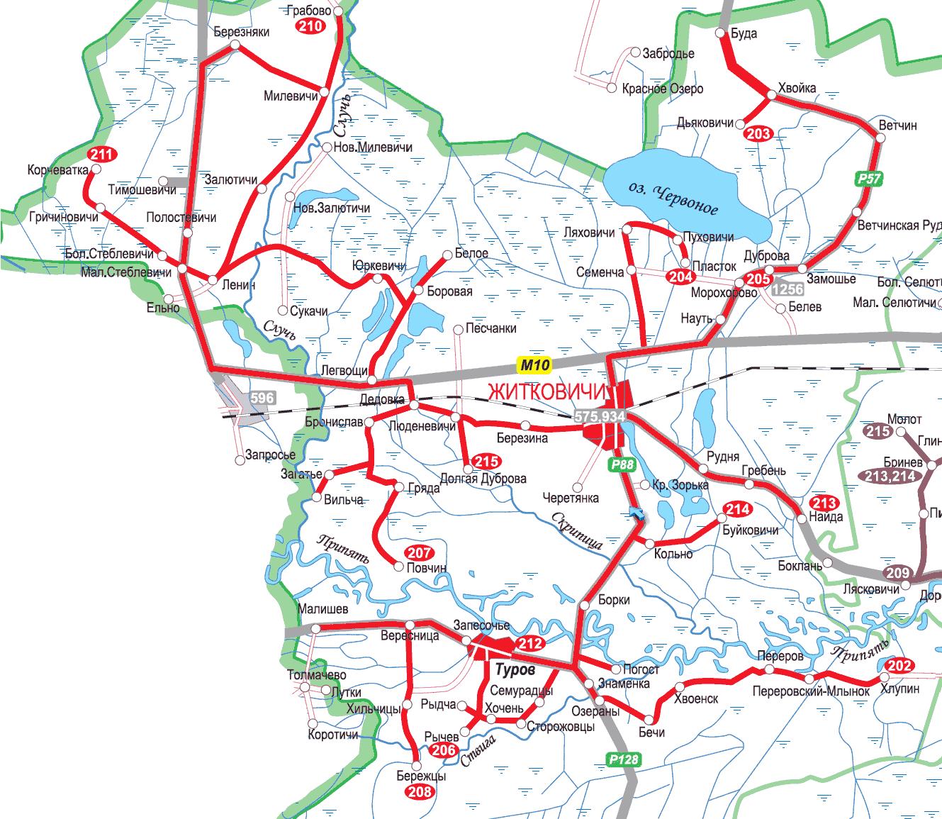 схема автобуса гомель
